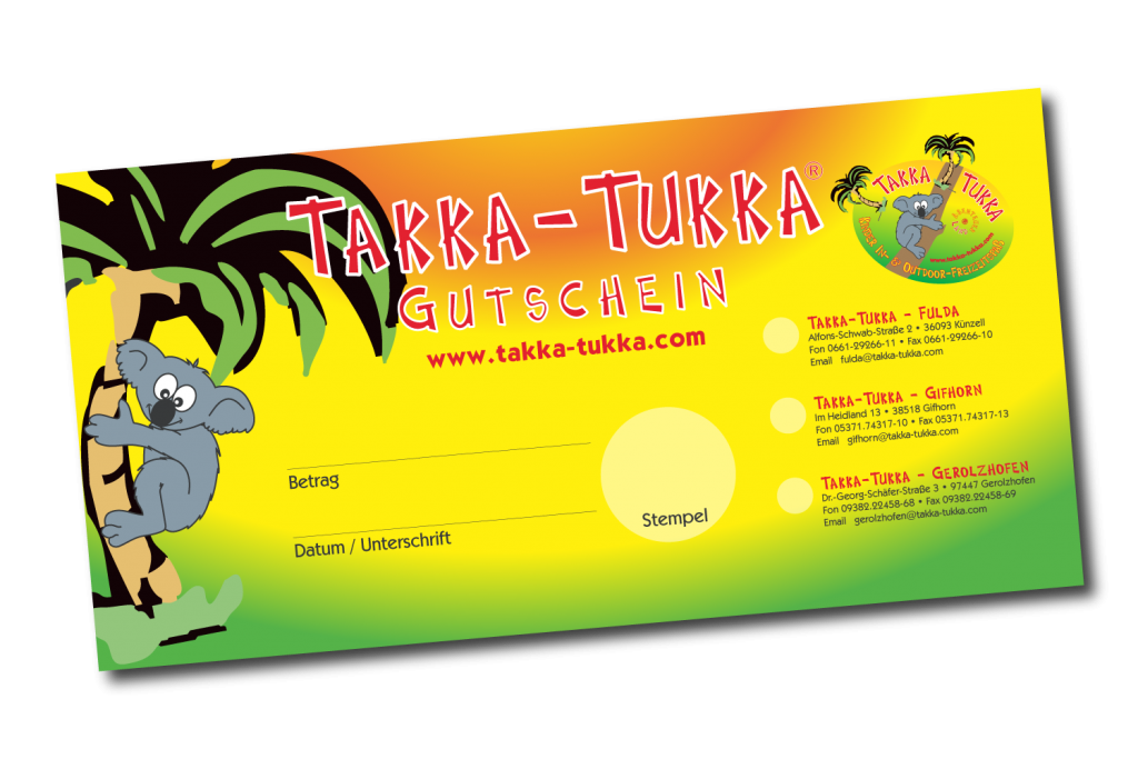 Takka-Tukka Abenteuerland Gifhorn Gutschein